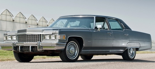 cadillac brougham photo