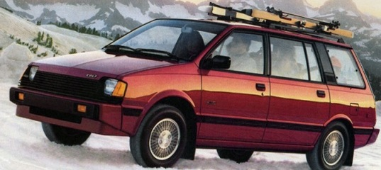 dodge colt vista photo
