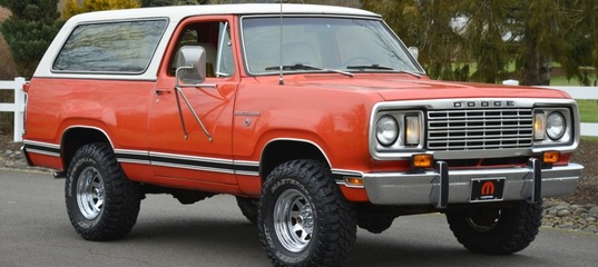 dodge ramcharger photo