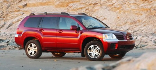 mitsubishi endeavour photo